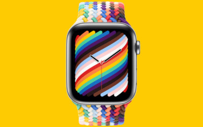 The new Apple Watch Pride edition bands are out and they're gorgeous!