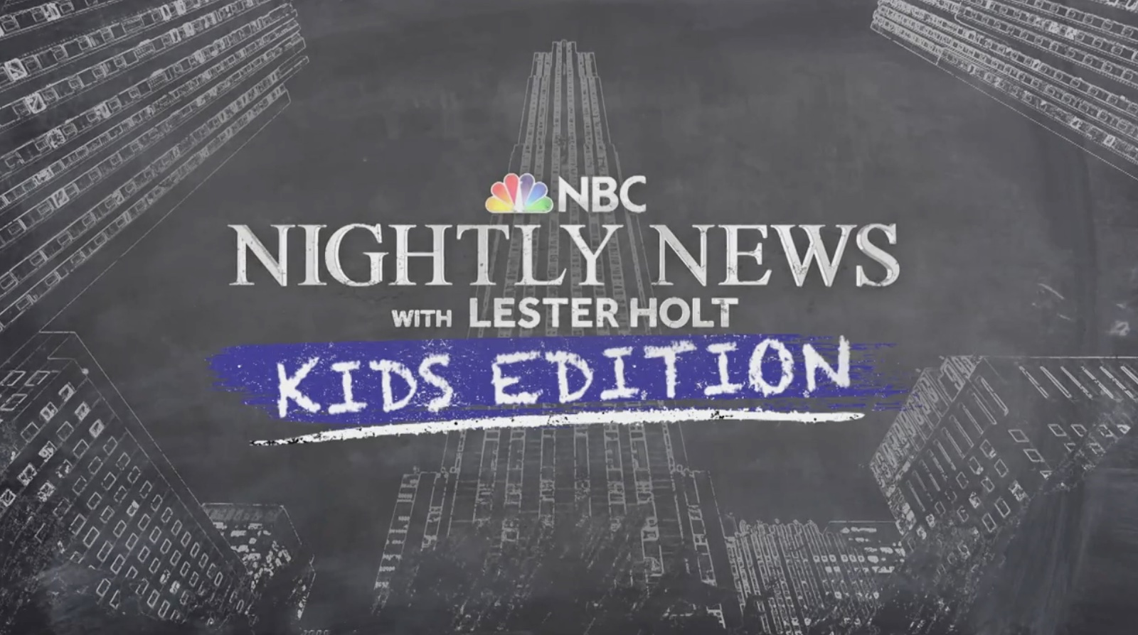 Great news podcasts for kids: NBC Nightly News with Lester Holt, Kids Edition