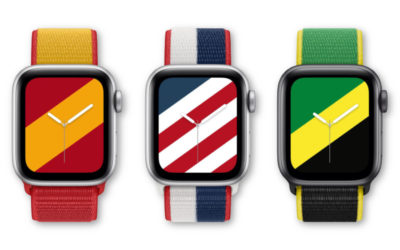 Can you identify all 22 of the new Olympic-ready Apple Watch bands?