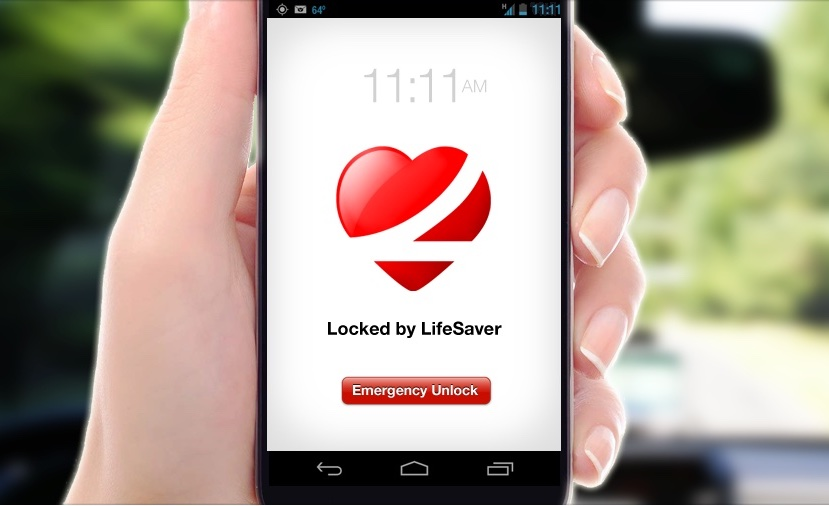 Apps that read texts out loud: The Lifesaver app will lock your phone while driving to eliminate distraction