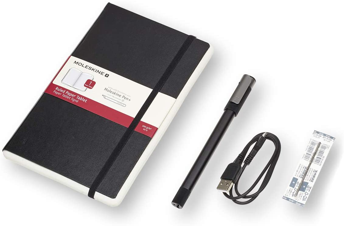 4 ways to use tech to turn your handwriting into text: the Moleskin smart notebook system