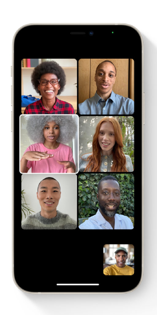 New iOS 15 features parents will love: FaceTime is now in grids, with portrait mode, and compatible with Android!