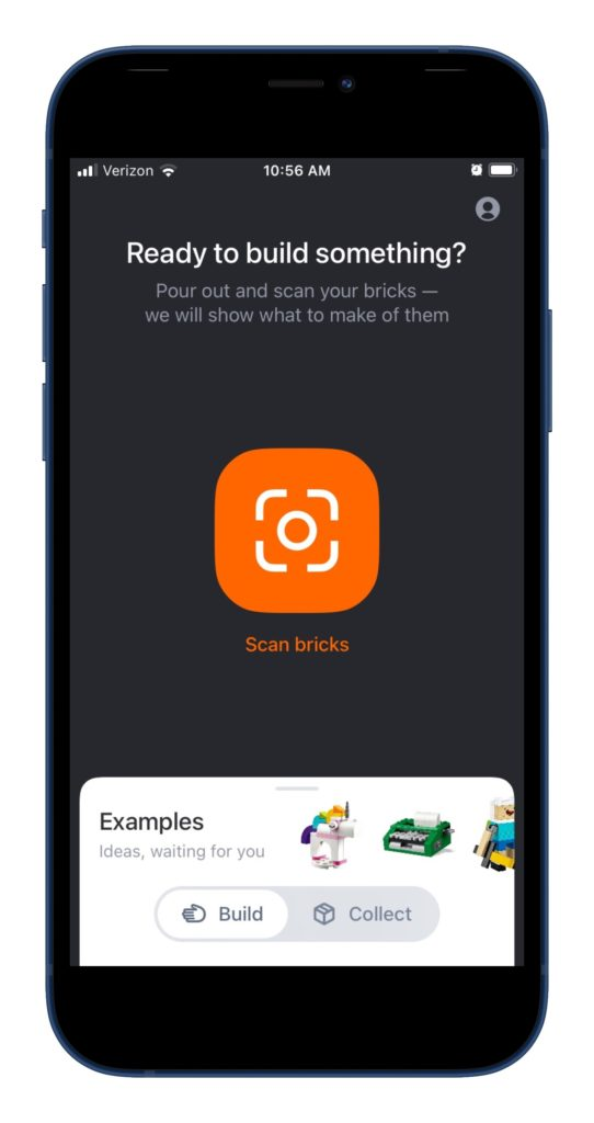 The Brickit app scans your LEGOs to help you come up with cool new designs.