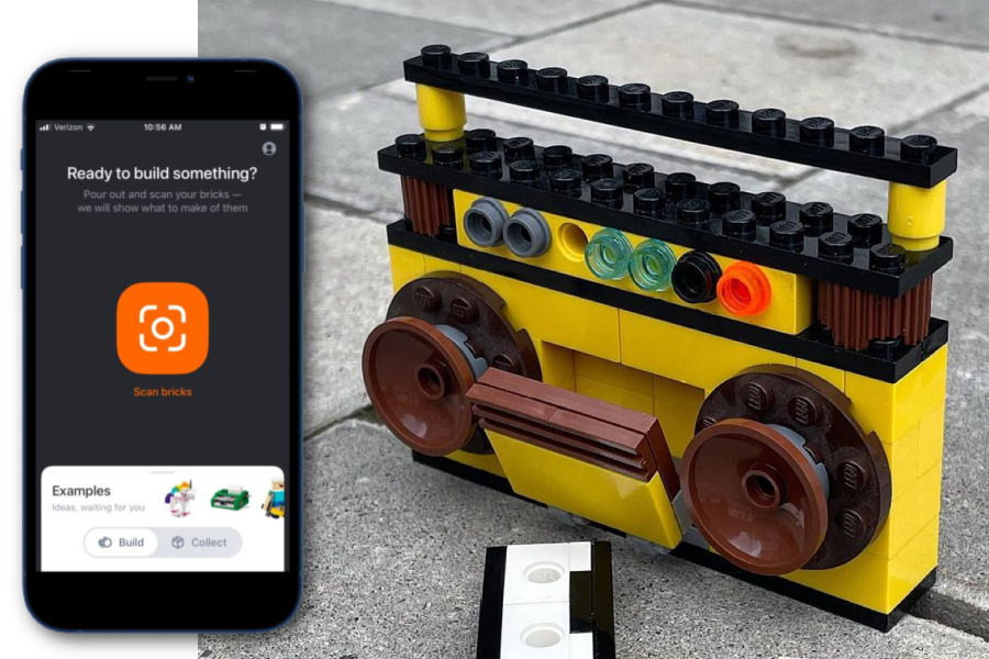 This app actually scans your kids' LEGOs, then lets them know what they can build with them. Whoa.