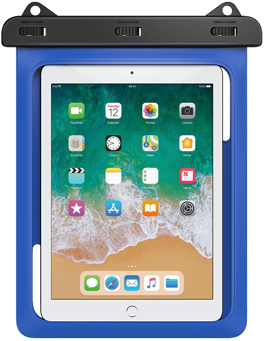 Best waterproof iPad case: A dry bag option from MoKo is affordable, but offers less drop protection.