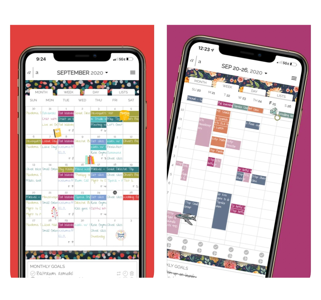 The best digital planners for parents: Artful Agenda is perfect if you love paper planners...but want it digital