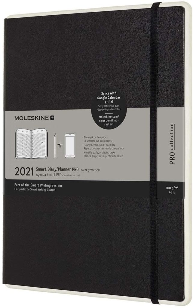 Best digital planners for parents | The Moleskine Smart Planner combines the best of a paper planner with the best of a digital app. Really!