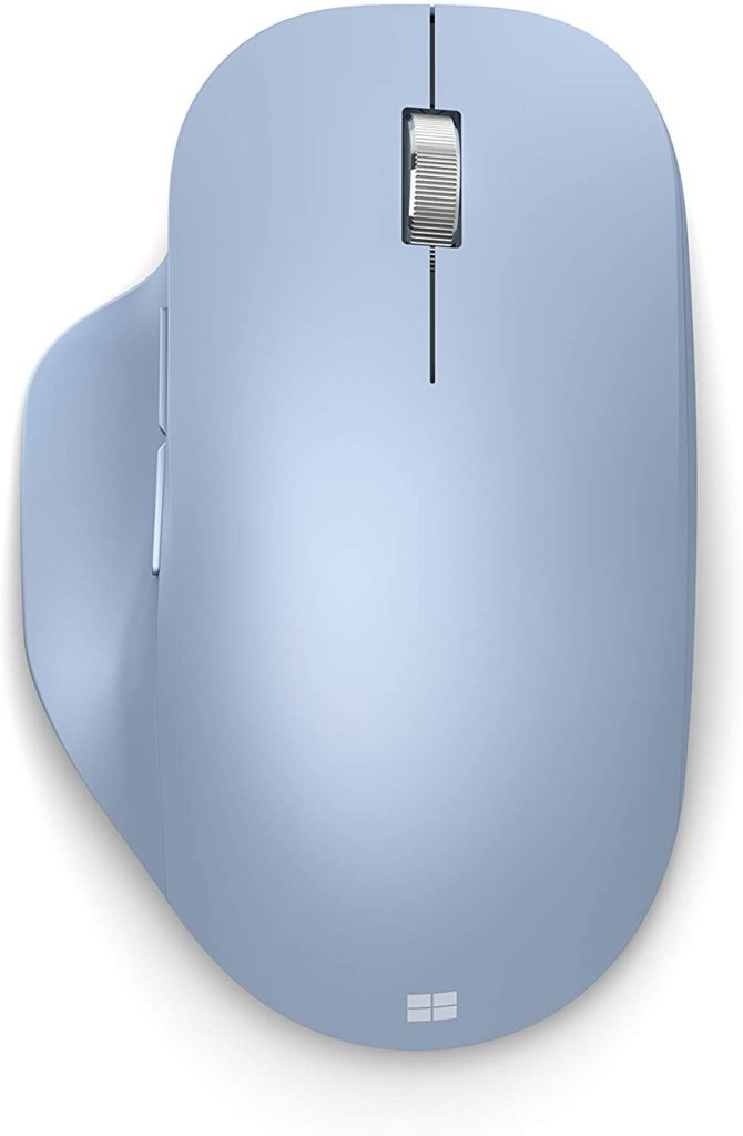 5 ergonomic laptop accessories you need for your work and study set-ups: Pastel wireless mouse   Microsoft