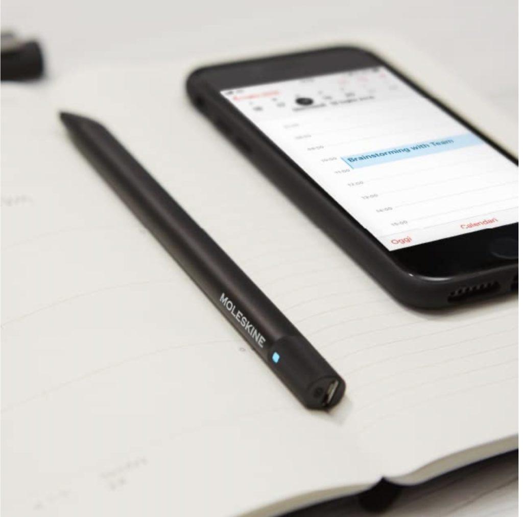 The Moleskine smart notebooks automatically sync your handwritten calendar into your digital calendar app. Amazing.